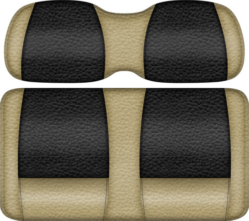 Double Take Veranda Edition Golf Cart Seat Sand-Black