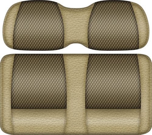 Double Take Veranda Edition Golf Cart Seat Sand-Bronze