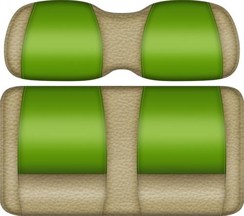 Double Take Veranda Edition Golf Cart Seat Sand-Lime