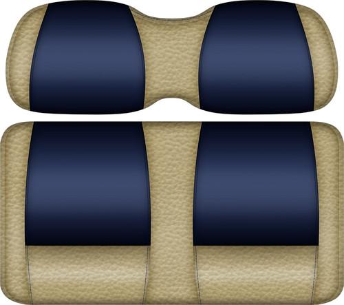 Double Take Veranda Edition Golf Cart Seat Sand-Navy