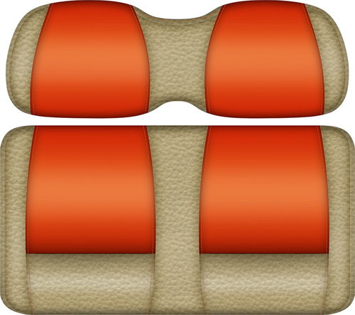 Double Take Veranda Edition Golf Cart Seat Sand-Orange