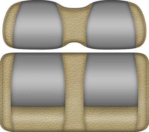 Double Take Veranda Edition Golf Cart Seat Sand-Silver