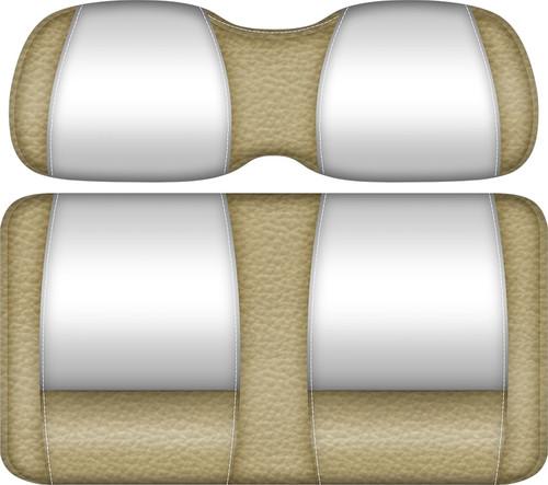 Double Take Veranda Edition Golf Cart Seat Sand-White