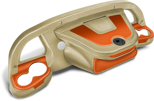 DoubleTake Sentry Dashboard Sand-Orange