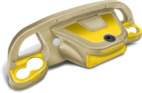 DoubleTake Sentry Dashboard Sand-Yellow