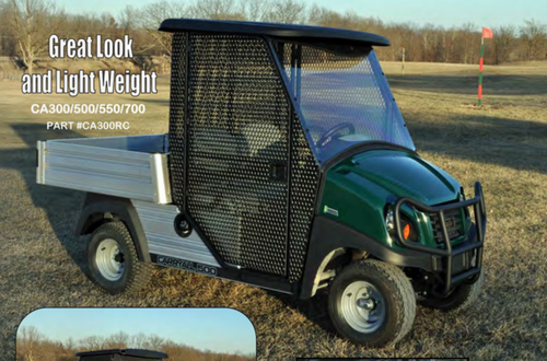 XRT 1550 or CarryAll 1500 Range Cage W/ Lexan Windshield (Cart Not Included)
