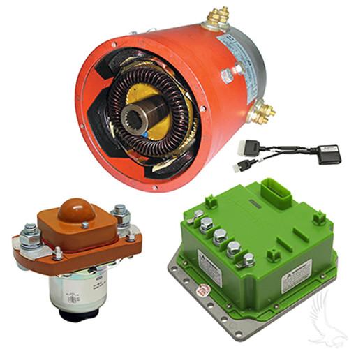 E-Z-Go TXT 48V Mild Hills Motor Controller Combo, Navitas