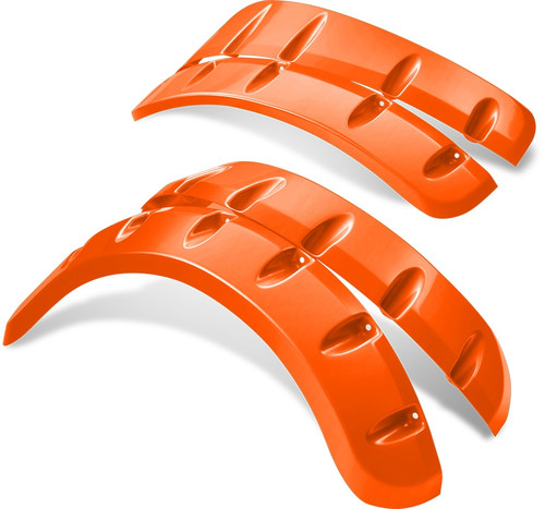 Doubletake Color Matched Fender Flares Orange