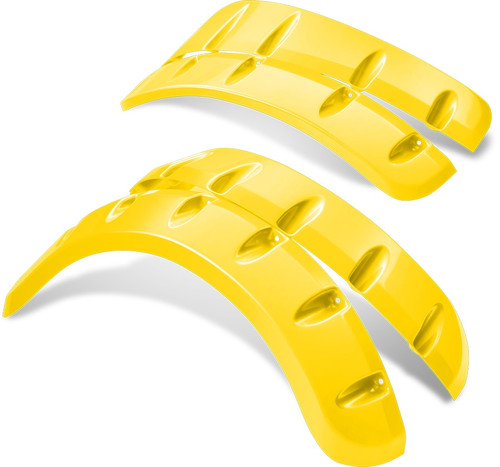 Doubletake Color Matched Fender Flares Yellow