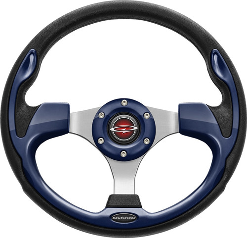 """Pilot 13"""" Color Steering Wheel Navy With Free Hub Adapter"""