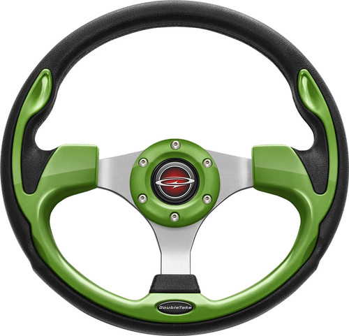 """Pilot 13"""" Color Steering Wheel Lime With Free Hub Adapter"""
