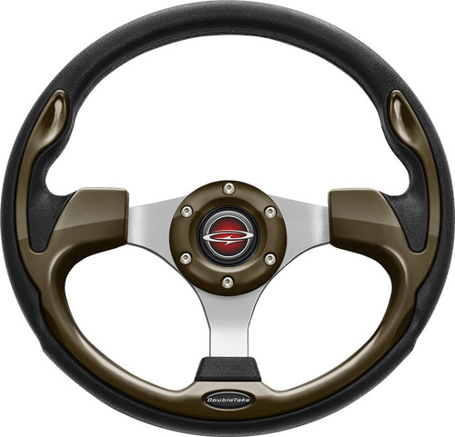 "Pilot 13"" Color Steering Wheel Bronze With Free Hub Adapter"