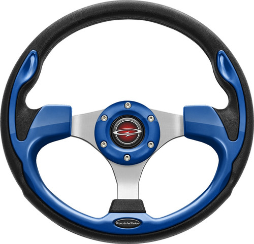 """Pilot 13"""" Color Steering Wheel Blue With Free Hub Adapter"""