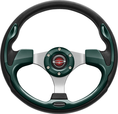 """Pilot 13"""" Color Steering Wheel Green With Free Hub Adapter"""