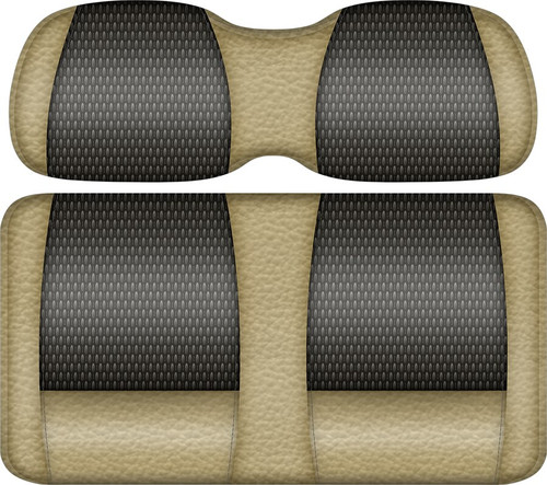 Double Take Veranda Edition Golf Cart Seat Sand-Graphite