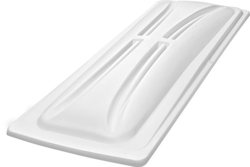 """DoubleTake 118"""" Long Track Color Matched Top White"""