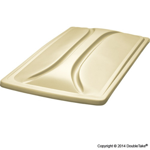 """DoubleTake 80"""" Long Track Color Matched Top Beige"""