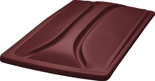 """DoubleTake 80"""" Long Track Color Matched Top Burgundy"""