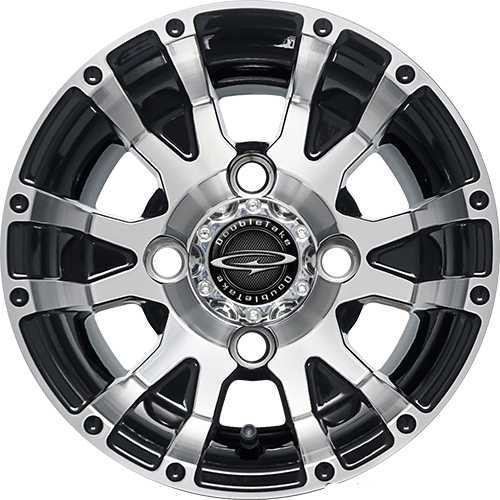 "Doubletake 10"" W56 Series Wheel Machined Black"