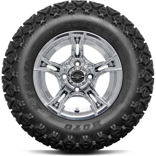 "DoubleTake 12"" W60 Chrome All Terrain Tire"