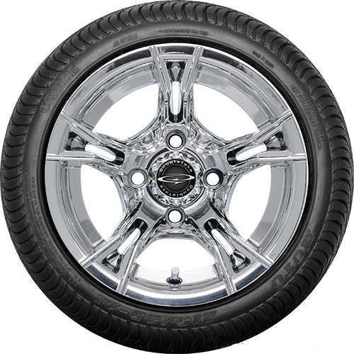 "DoubleTake 12"" W60 Chrome Street Tire"