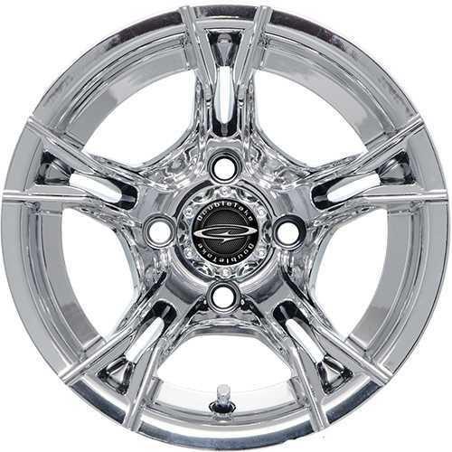 "DoubleTake 12"" W60 Series Wheel Chrome"