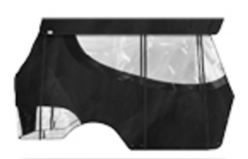 4 Passenger Enclosure Black