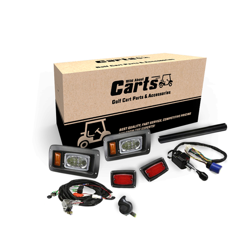Wild About Carts Deluxe Street Legal Light Kit Club Car DS