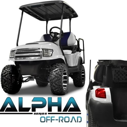 Madjax Club Car Precedent  Alpha Off Road Body Kit White