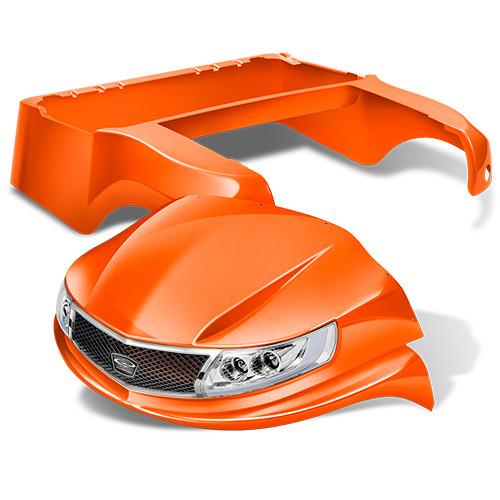 DoubleTake Phoenix Golf Cart Body Kit Orange Club Car
