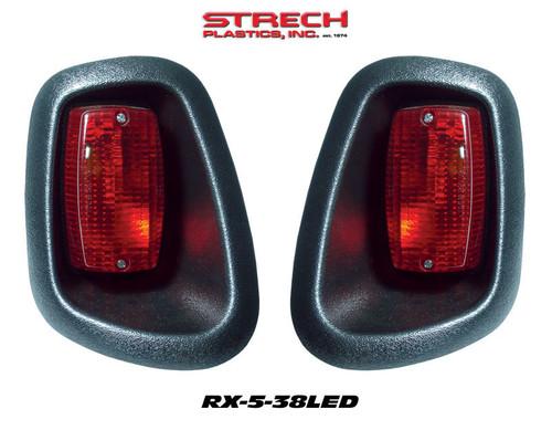 E-Z-GO RXV LED Taillights Smooth black