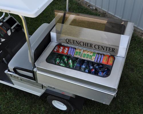 Club Car CarryAll 2 Golf Cart Quencher Center Concession Box