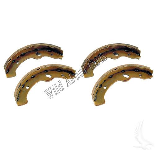 Brake Shoes, SET OF 4, E-Z-Go RXV, Gas 97-09.5/Elec 96-09.5, Workhorse 96+, Yamaha G2-G22 94-06