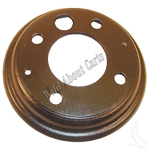 Brake Drum, With Adjustment Hole, E-Z-Go 77-81