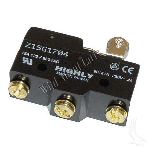 Micro Switch, E-Z-Go Gas & Electric 65+ Non-DCS and Marathon 83-94