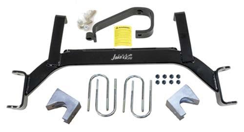 "Jake's E-Z-GO TXT Gas 6"" Axle Lift Kit (Fits 2009.5-UP) (7226) Golf Cart Lift Kit"