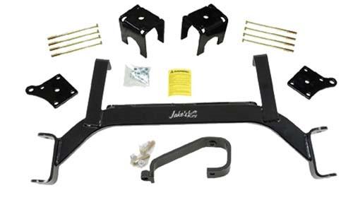 "Jake's E-Z-GO TXT Electric 5"" Axle Lift Kit (Fits 2001.5-2009) (6205) Golf Cart Lift Kit"