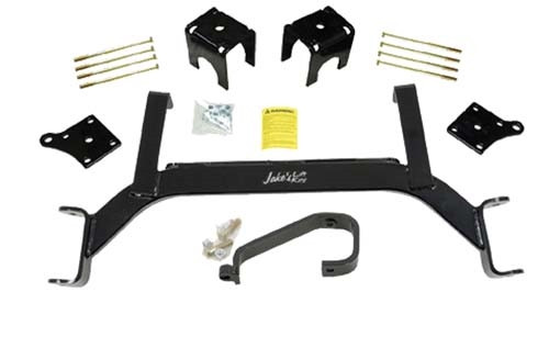 "Jake's E-Z-GO TXT Electric 5"" Axle Lift Kit (Fits 2001.5-2009) (6205) Golf Cart Lift Kit"
