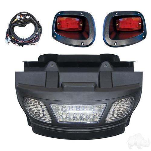 E-Z-Go TXT 14+ LED Light Bar Bumper Kit