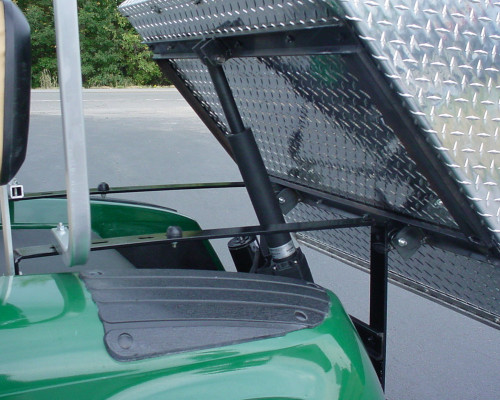 EZGO RXV Aluminum Electric Dump Box w/Hardware 37x45x9