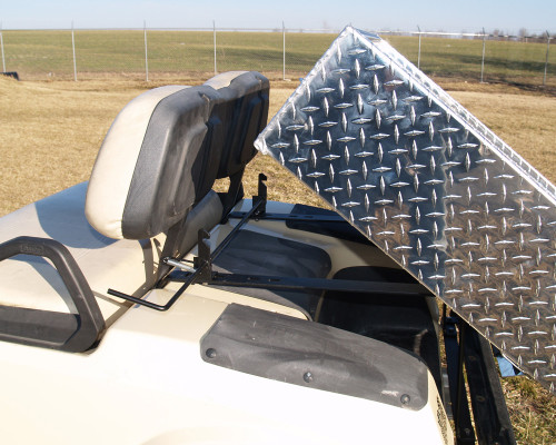 EZGO RXV Aluminum Dump Box w/Hardware 32x41x9  Hand Operated Dump Box