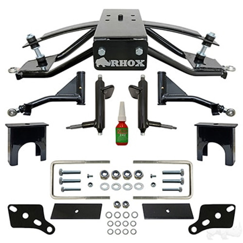 """RHOX Standard A-Arm Lift Kit, 6"""" Club Car Precedent, Tempo and Onward Gas and Electric 2004-Up"""