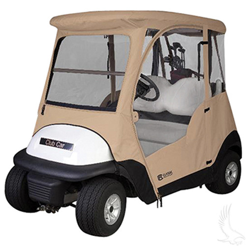 Drivable Enclosure with Zip-Off Windshield, Club Car Precedent