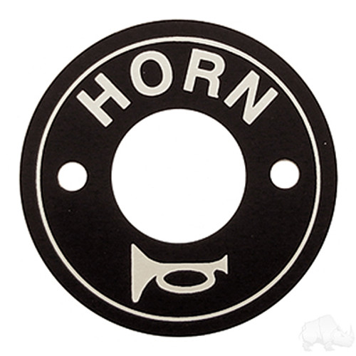 Floor Mount Horn Decal