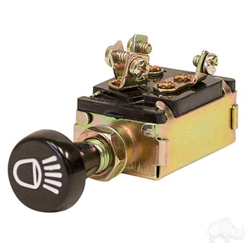 Push/Pull Three Position Headlight Switch
