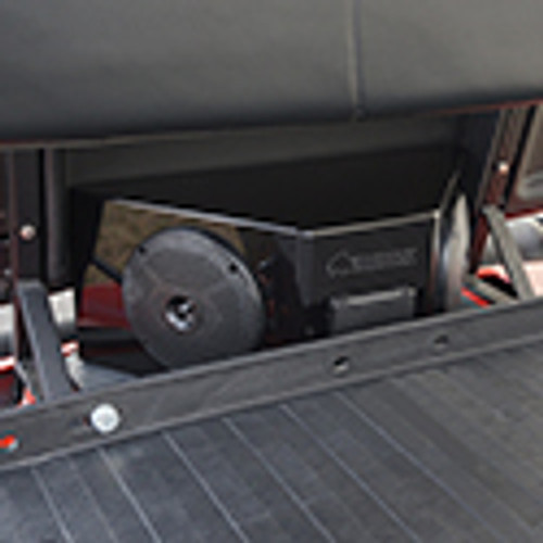 Audio Center Enclosure with Bluetooth AMP, Power Center and Speakers