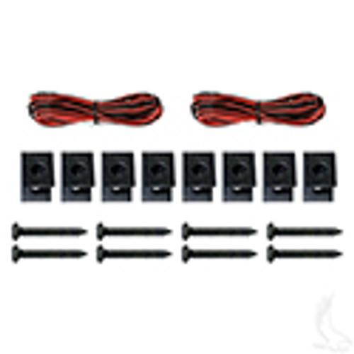 """Pyle 5.25"""" 100 Watt Waterproof Black Speakers Only- Set of 2"""