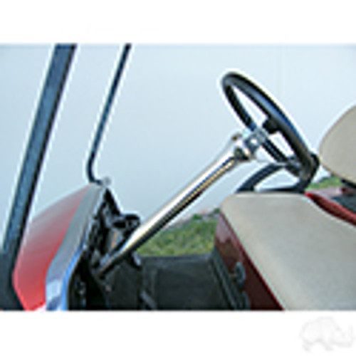 Club Car Precedent Stainless Steel Steering Column Cover