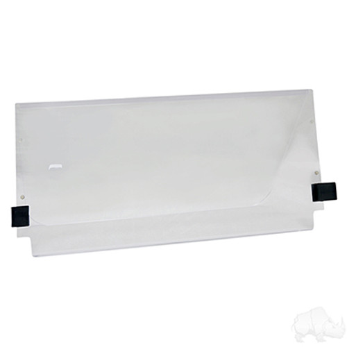 Yamaha G22 03-06 Clear Acrylic Split Windshield