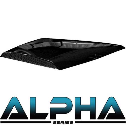 Black Alpha Series Hood Scoop for Precedent